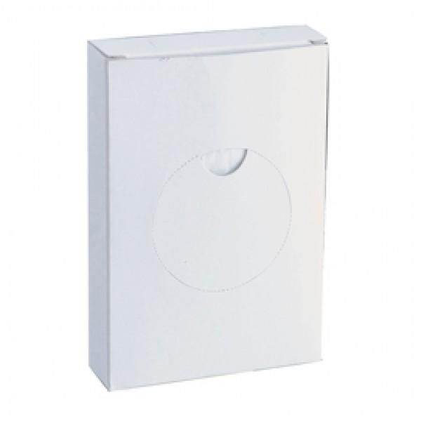 Sacchetti igienici - 8,7x1,1x1,2 cm - HDPE - bianco - Medial International - conf. 25 pezzi