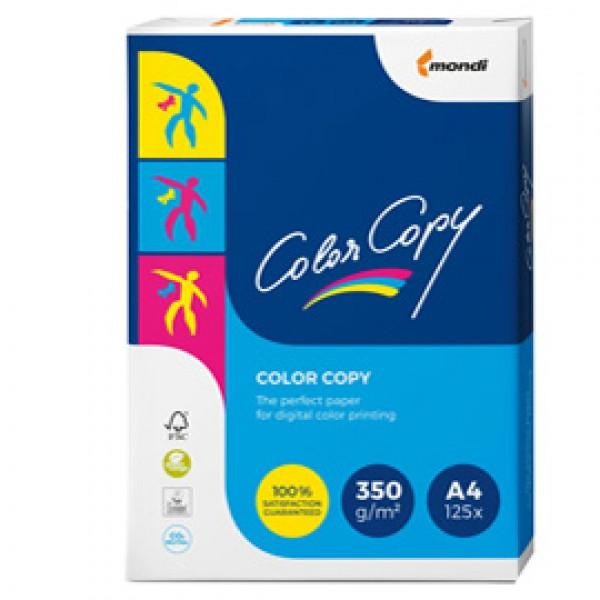 Carta Color Copy - A4 - 350 gr - bianco - Mondi - conf. 125 fogli