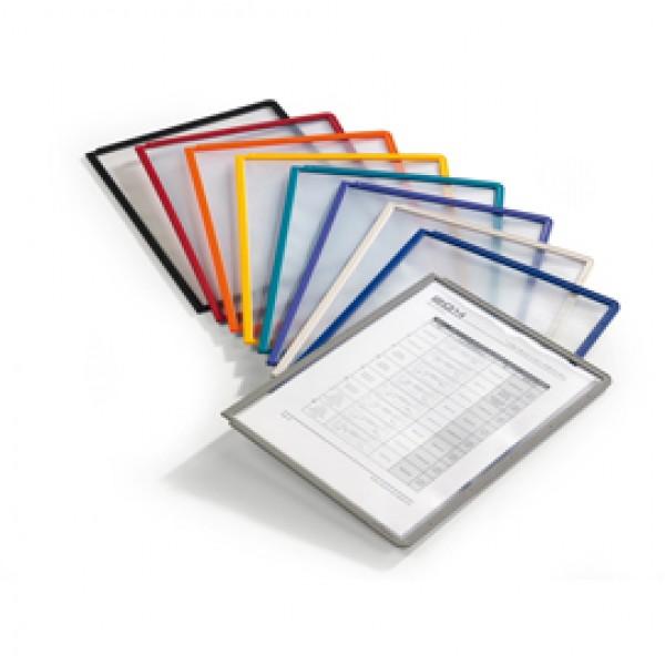 Pannelli di ricambio Sherpa® per leggii Vario® - grigio - Durable - conf. 5 pezzi