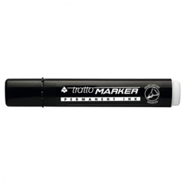 Marcatore permanente Marker - punta tonda - tratto 2,50mm - nero  - Tratto