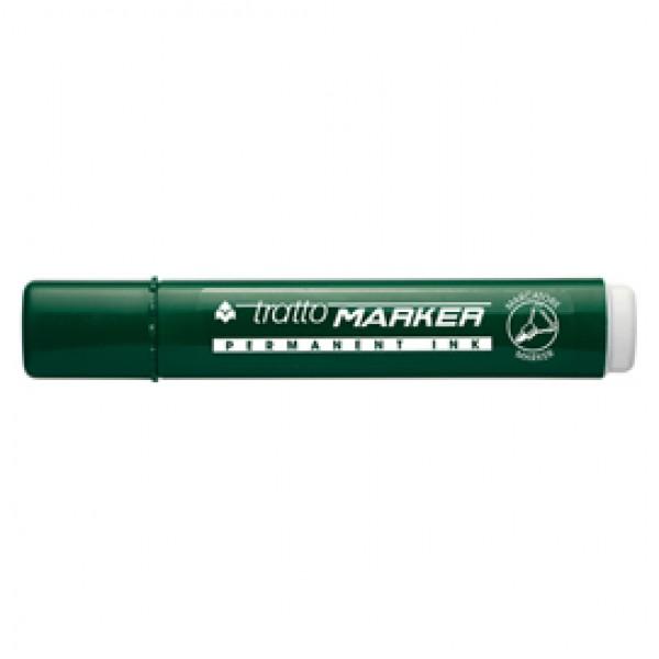 Marcatore permanente Marker - punta tonda - tratto 2,50mm - verde - Tratto