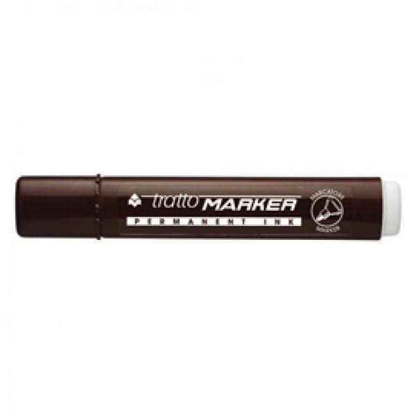 Marcatore permanente Marker - punta tonda - tratto 2,50mm - marrone - Tratto