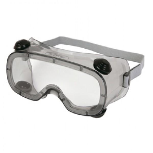 Occhiali a maschera Ruiz 1 - policarbonato/PVC - incolore - Deltaplus