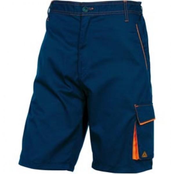 BERMUDA da LAVORO M6BER blu/arancio Tg. L PANOSTYLE   - M6BERBM-L
