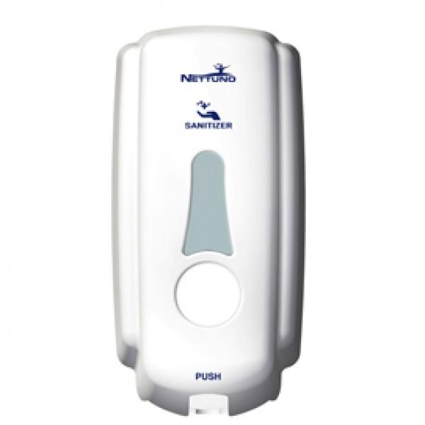 Dispenser T-Small per sapone (ricariche TS800) - capacità 1 L - bianco - Nettuno