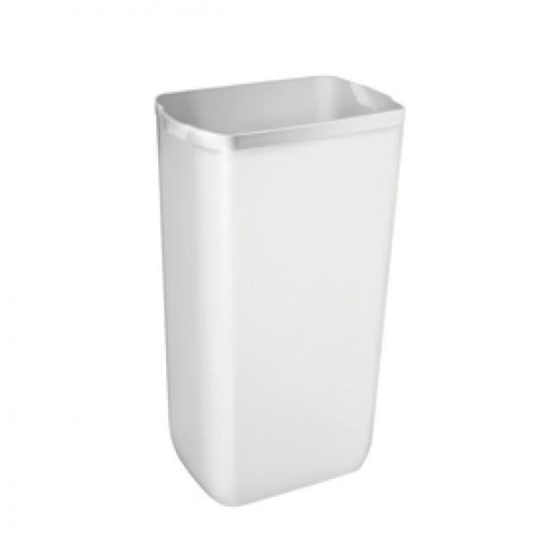 Cestino gettacarte Soft Touch - 33x22x49 cm - 23 L - bianco - Mar Plast