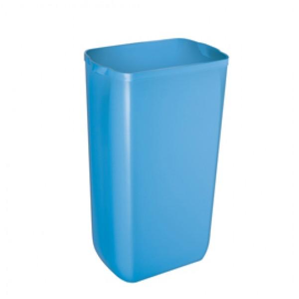Cestino gettacarte Soft Touch - 33x22x49 cm - 23 L - azzurro - Mar Plast