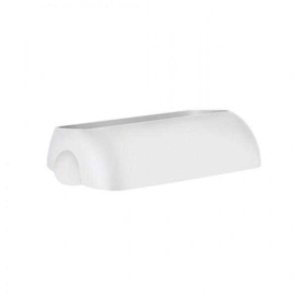 Coperchio per cestino gettacarte Soft Touch - 33,5x22,5x9 cm - 23 L - bianco - Mar Plast
