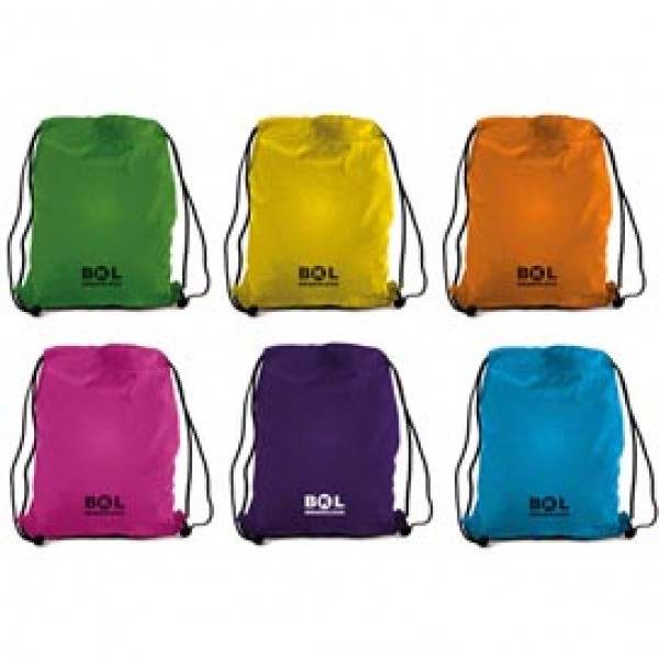 SACCHETTO T-BAG IN NYLON 38X50cm COLORI ASSORTITI - 698500