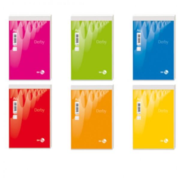 Blocco note Derby - 5mm - 100 x 150mm - 60gr - 70 fogli - BM