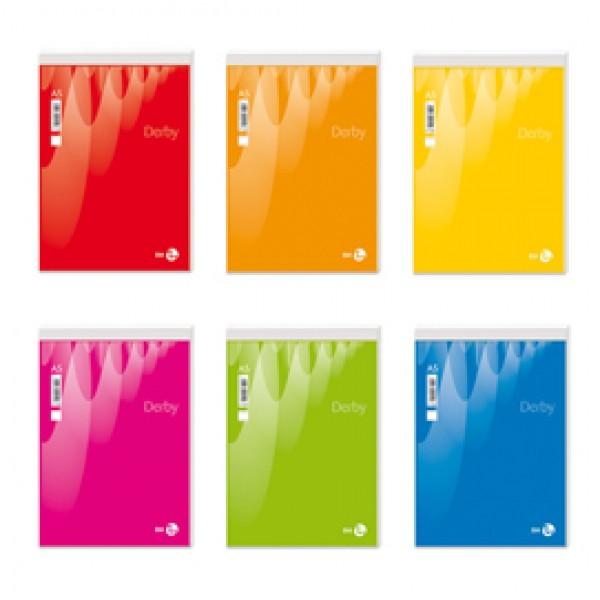 Blocco note Derby - bianco - 150 x 210mm - 60gr - 70 fogli - BM