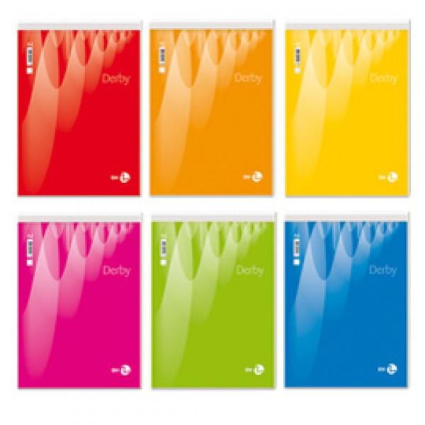 Blocco note Derby - bianco - 210 x 297mm - 60gr - 70 fogli - BM