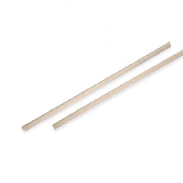 Manico in legno per scope - 150 cm - In Factory