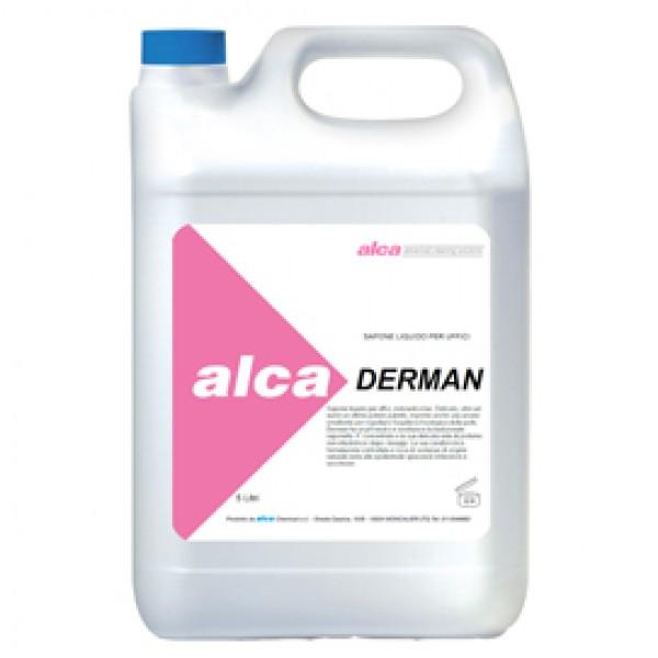 Sapone liquido Derman - fiorito - Alca - tanica da 5 L