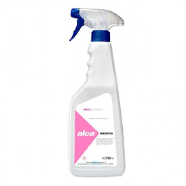 Sgrassante sanificante Saniter Plus - Alca - trigger da 750 ml