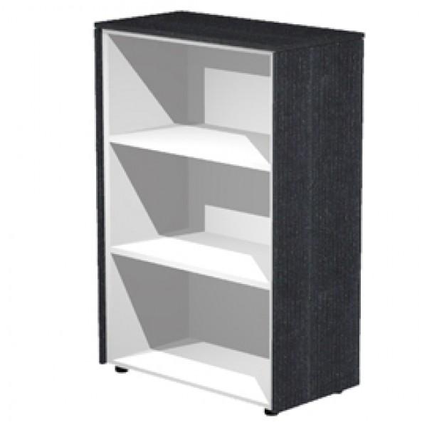 Mobile Prestige - medio a giorno - 82,8x43x119,8 cm - nero venato - Artexport