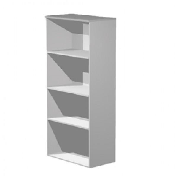 Mobile Easy - alto a giorno - 80x35x180 cm - grigio - Artexport