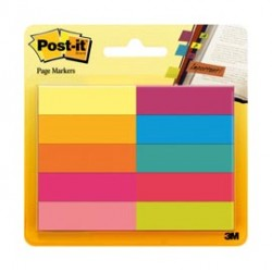 SEGNAPAGINA POST-IT 670-10AB-EU 500FG In 10COLORI INDEX 12,7x44mm In CARTA - 63152