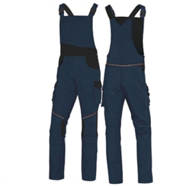 Salopette da lavoro Mach 2 Corporate - tela/poliestere/cotone - taglia XL - blu/nero - Deltaplus