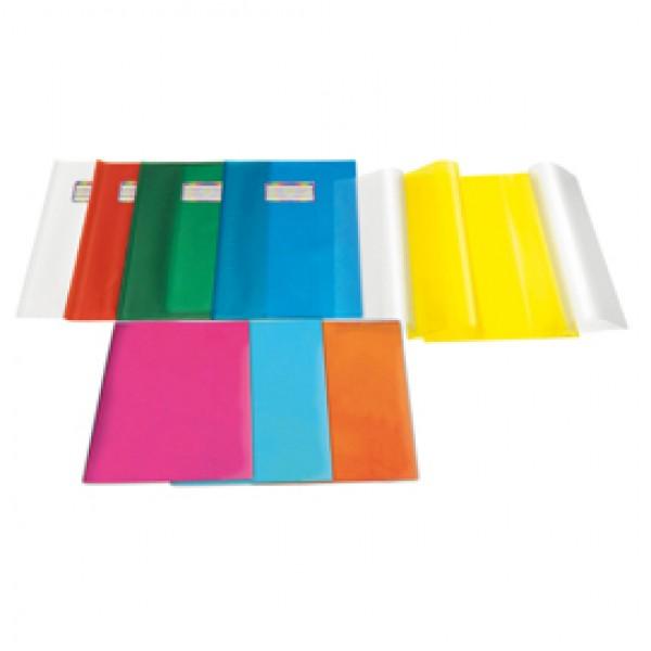 Coprimaxi Emy Silk - 21x30cm - PVC - goffrato - giallo - trasparente - con alette - Ri.plast