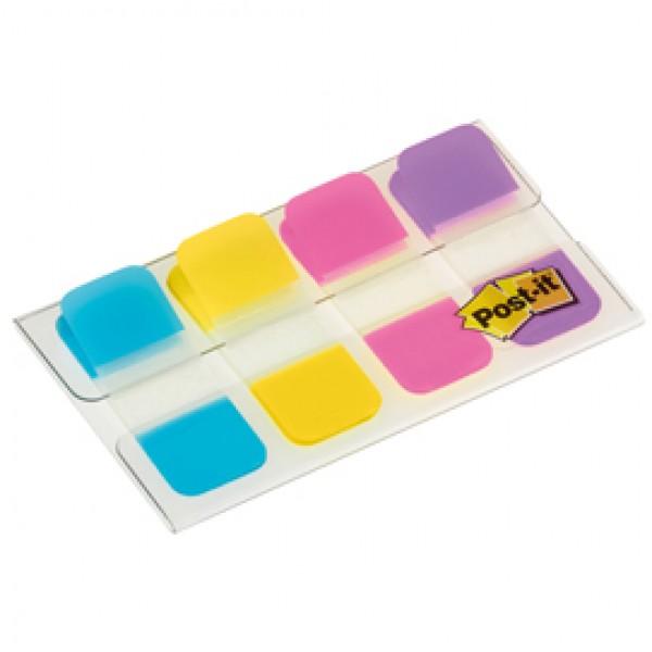 Segnapagina Post it® Index Strong Mini -  colori vivaci - 15,8 x 38 mm - Post it® - conf. 40 pezzi