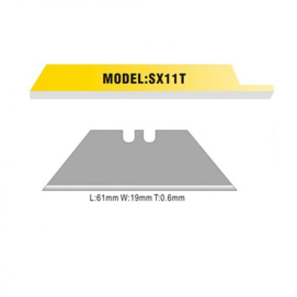 Lame trapezoidali di ricambio per cutter (SX 792 / SX 12 6) - Artiglio - conf. 10 pezzi