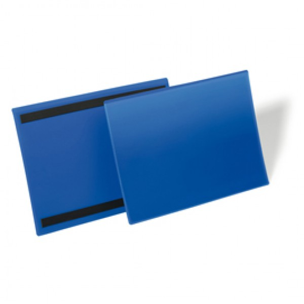 Buste identificative magnetiche - 150x67 mm - Durable - conf. 50 pezzi
