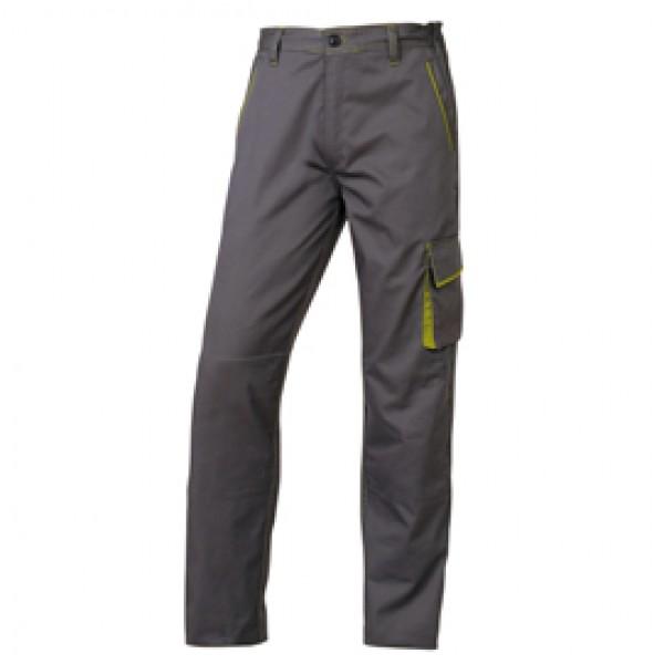 Pantalone da lavoro Panostyle®  M6PAN - sargia/poliestere/cotone - taglia XXL - grigio/verde - Deltaplus
