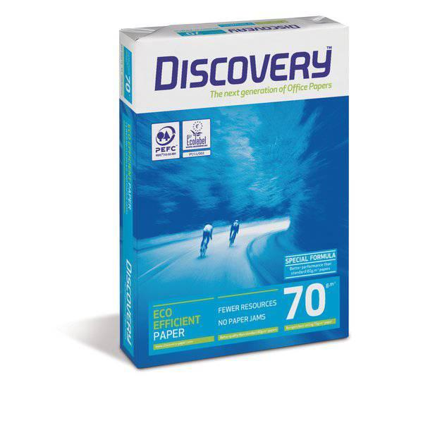 Carta Discovery 70 A3  - 70 gr. - 104 µm - 0481HD (1 risme 500 fogli)