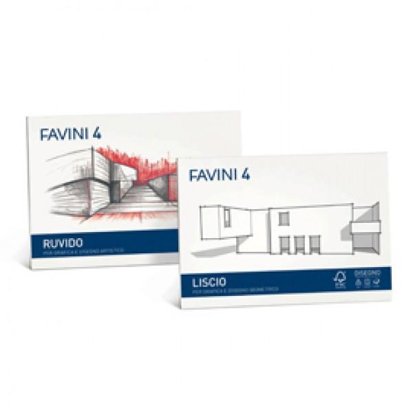 ALBUM FAVINI 4 24X33CM 220GR 20FG LISCIO SQUADRATO (Conf.5) - A167504