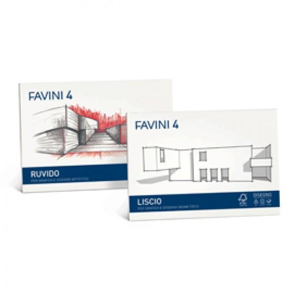 ALBUM FAVINI 4 33X48CM 220GR 20FG LISCIO (Conf.5) - A166503