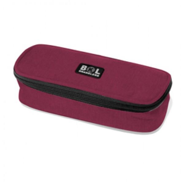 Astuccio ovale colors - 23,5x9x5,5cm - colori assortiti - Ri.plast