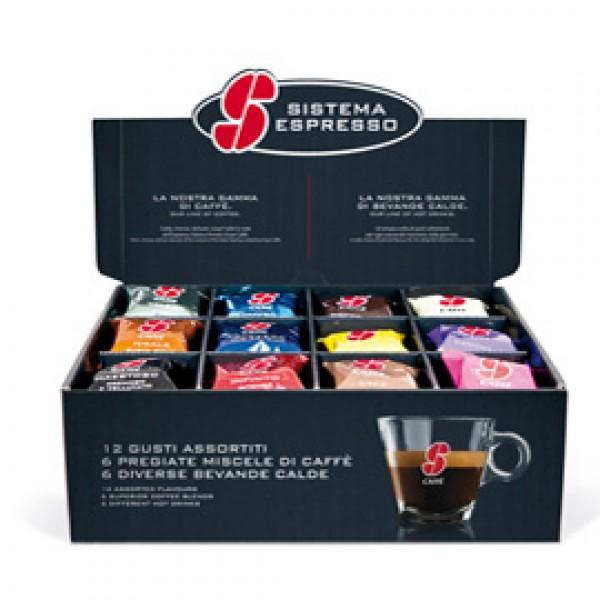 Set degustazione in capsule assortite - caffè / bevande - Essse Caffè - conf. 36 pezzi