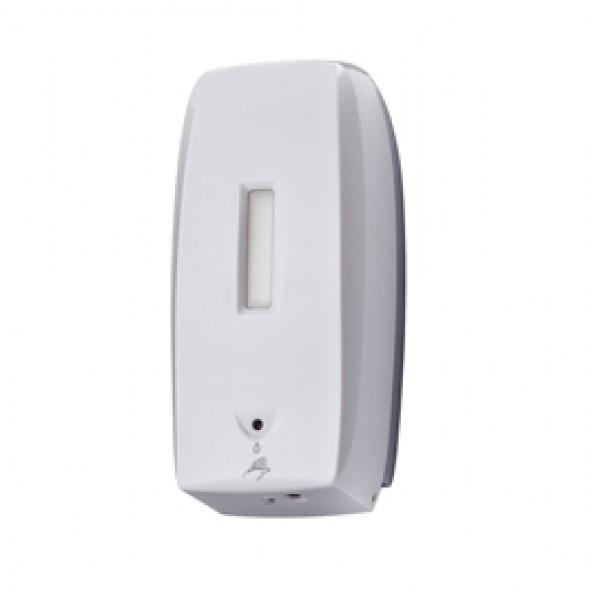 Dispenser automatico Basica per sapone liquido - capacità 0,5 L - bianco - Medial International