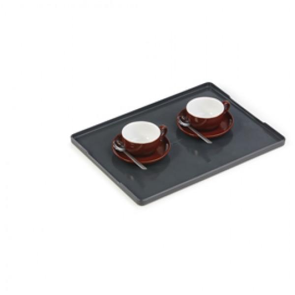 Vassoio Coffee Point - 1,3x24,2x32,9 cm - ABS - nero - Durable