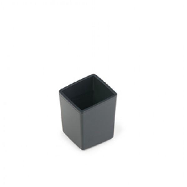 Mini cestino Coffee Point - 10x7,9x7,9 cm - ABS - nero - Durable
