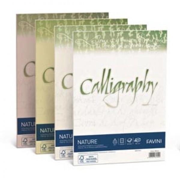 Calligraphy Nature Favini - Oliva - fogli - A4 - 250 g - A69N564 (conf.50)