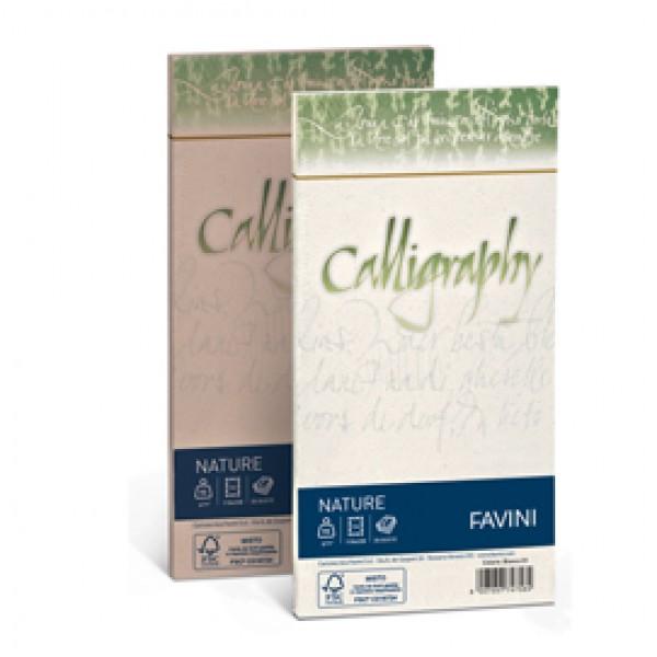 Buste Nature Calligraphy  Favini - Agrumi 11X22 - 100 gr. A57Q104 (conf.25)