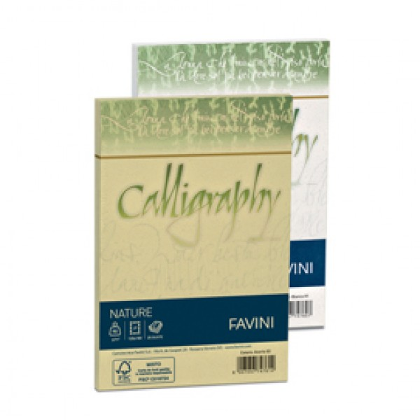 Buste Nature Calligraphy  Favini - Agrumi 12X18 - 100 gr. A57Q107 (conf.25)