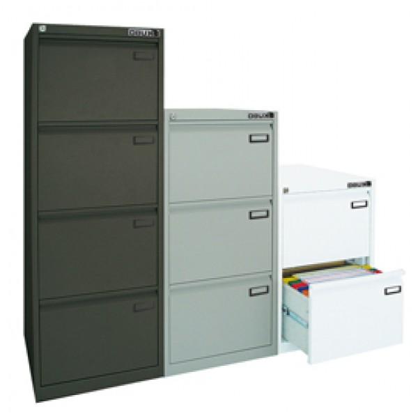 Classificatore Kubo - per cartelle sospese - 2 cassetti - 46x62x70 cm - bianco - Bertesi