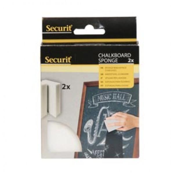 Spugne in schiuma per gesso liquido - Securit - conf. 2 pezzi