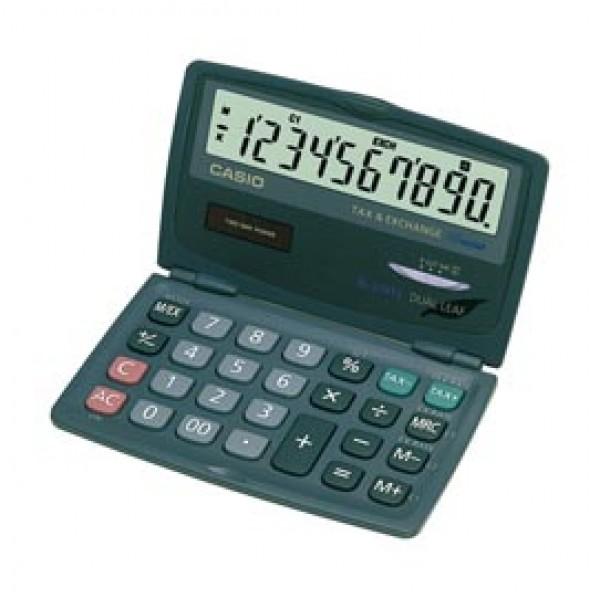 Calcolatrice tascabile SL-210 TE - 10 cifre - nero - Casio
