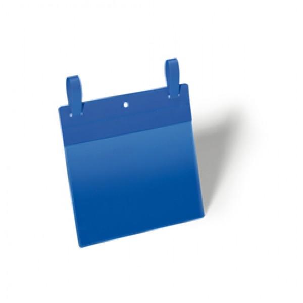 Buste identificative con fascette di aggancio - formato A5 orizzontale (210x148 mm) - Durable - conf. 50 pezzi