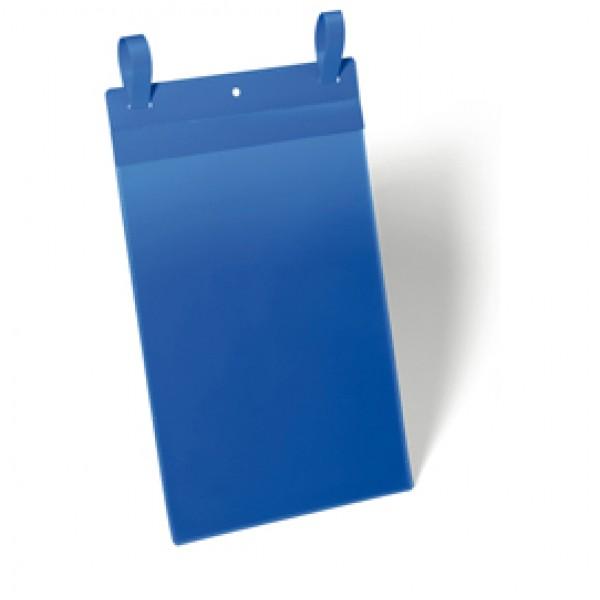 Buste identificative con fascette di aggancio - formato A4 verticale (210x297 mm) - Durable - conf. 50 pezzi
