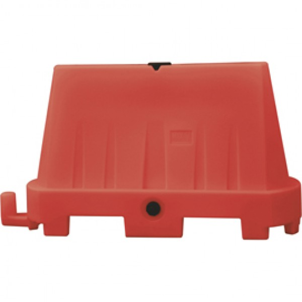 Barriera stradale tipo New Jersey - 100x40x70 cm - rosso