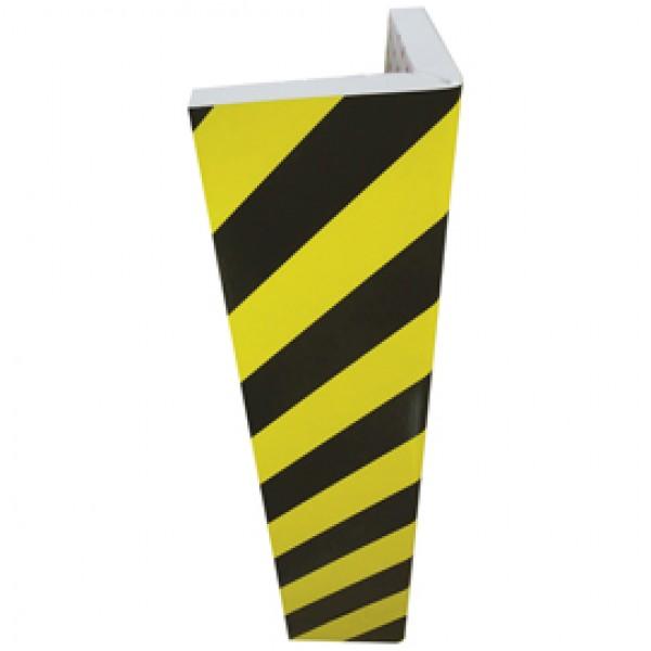 Paracolpi angolare - gomma NBR - larghezza 30 cm - altezza 73 cm - giallo/nero