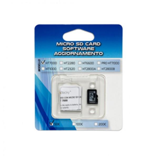 MICRO SD CARD aggiornamento 100/200 verificabanconote HT1000 - SD1000
