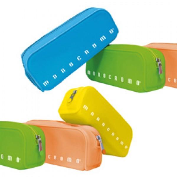 Bustina silicone Soft Touch Monocromo - 80x200x60 mm - colori assortiti fluo - Pigna
