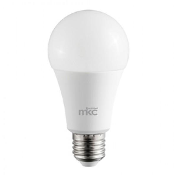 Lampada - Led - goccia - A60 - 18W - E27 - 6000K  - luce bianca fredda - MKC