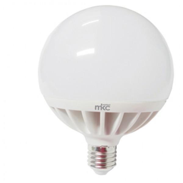 Lampada - Led - globo - 120 - 24W - E27 - 6000K - luce bianca fredda - MKC